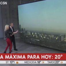 UFO-Sichtung während TV-Live-Übertragung