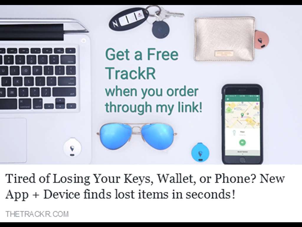 Der TrackR – Wie man alles und jeden aufspürt!