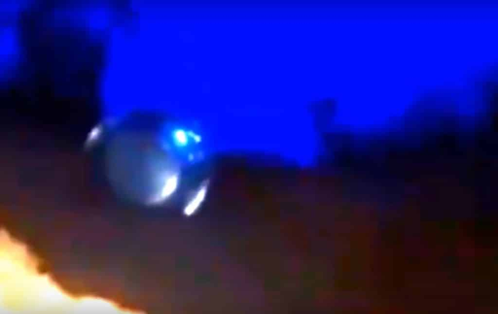 UFO Sichtung in Brasilien vom 13.5.2020 in Mage